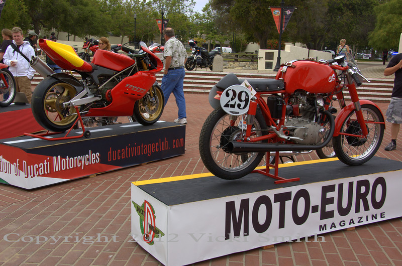 Other event sponsors were Ducati Vintage Club which organized the Moto Concorso and Moto-Euro magazine whose editor Larry Williams worked tirelessly to make Motogiro and the MEET happen.