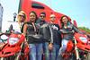 The Italian Trade Commission sponsored this Ducati fashion show
