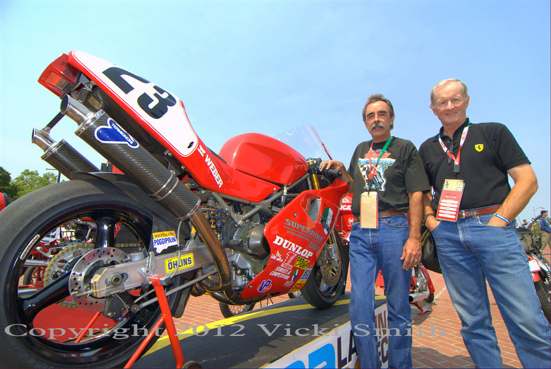 Cook Neilson, Tom Tasso and his Doug Polen 888.