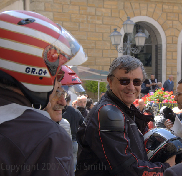 Federico Minoli, ex-CEO of Ducati, current Ducatisti