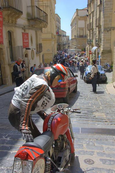 That's a 125cc Marianna worth about $100,000, a 10,000 rpm GP bike