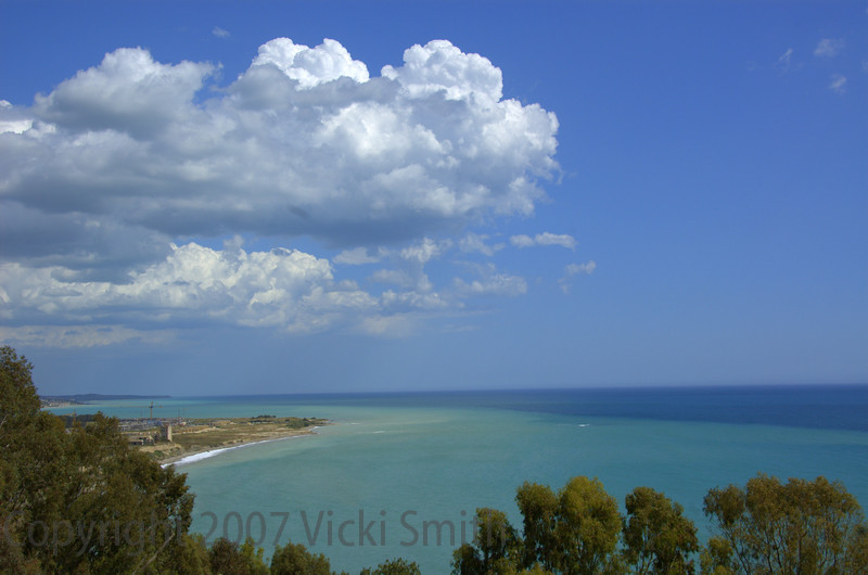 The playground - Sicily in May. Perfect weather, blue skies and seas to match. Heaven off the coast of Italy
