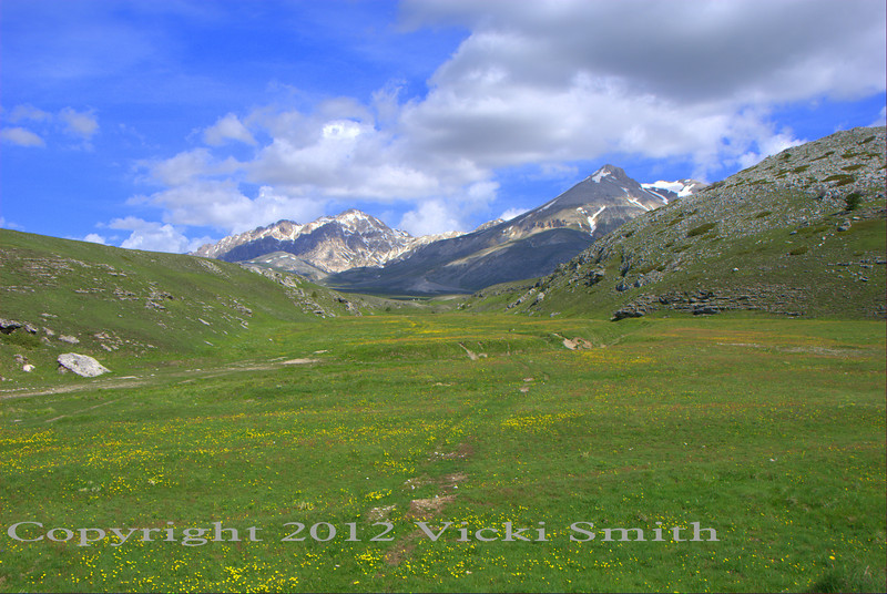 Day 5 we head back over the mountains, through a place that is my favorite in all of Italy. It's called Gran Sasso and it's a series of empty, well paved perfectly curving roads to a flat valley in the middle of the highest peaks, covered in wildflowers and patches of snow, this is the third time we have been here in 8 events