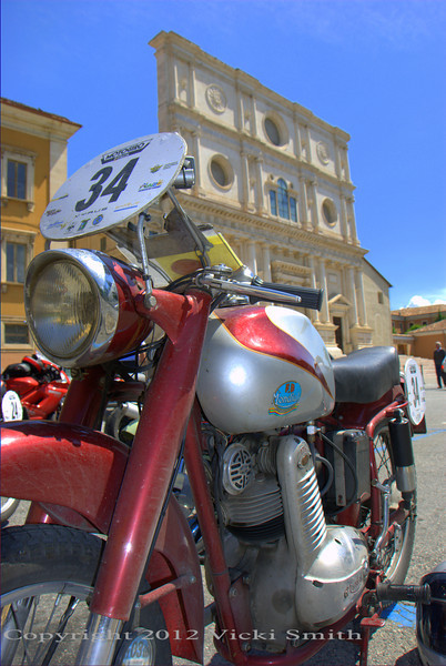 The backdrop to the Motogiro d'Italia is the history of Italy.