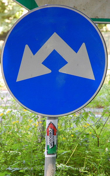 And the addition of confusing Italian road signs