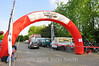 Tuesday am early.  The Motogiro d'Italia always begins and ends with this arch.