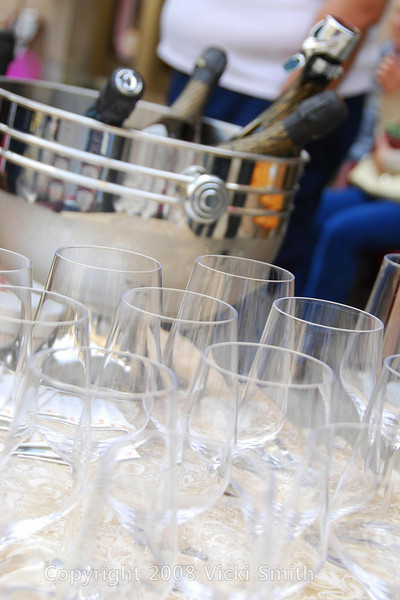 One stop was the home of the best Prosecco in Italy, served chilled in crystal glasses