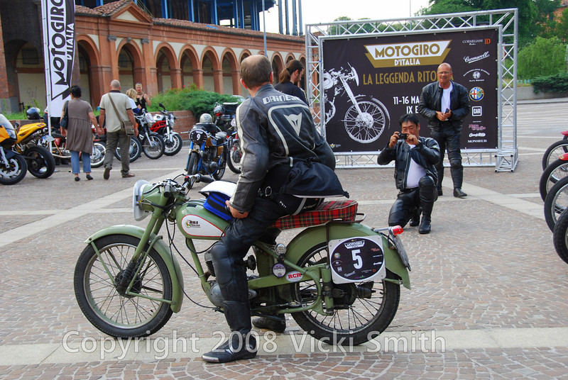This one might turn up in Classic Bike.  That's Hugo and his BSA Bantum