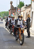 Participants tend to find others they are comfortable riding with, it often happens based on the bikes ability maybe even more than the riders. It's also possible to enter as a team, maximum of three bikes.  Some of the teams have ridden together for many years and it's incredible how they seem to ride as one.