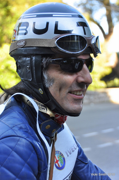 Most of the regulars are back, like Gabriel Bouza.  This is his 7th? 8th? Motogiro d'Italia