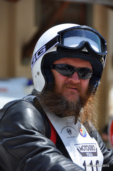 For this guy, Steve Craven from AU, Motogiro was a trip around the world.