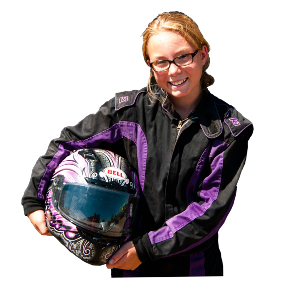 RhyAnna Schoenhard, Pierre, SD, 2016 Oahe Speedway, Junior Dragster Minor Class Champion