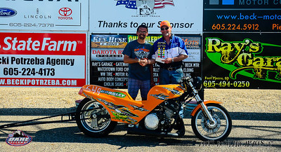 Ray Horsley, Pierre, SD - Diesel Services/Ray's Garage Bike/Sled Winner
