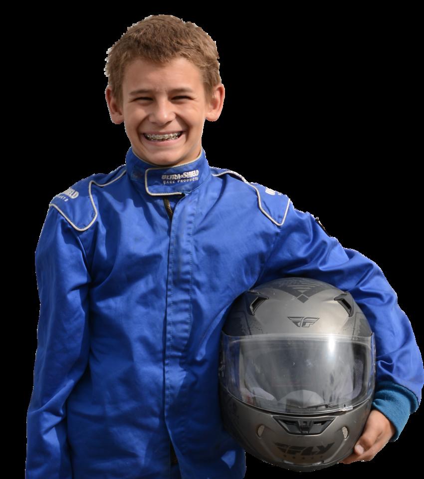 Kylen Horsley, 2017 Oahe Speedway Junior Minor Champion