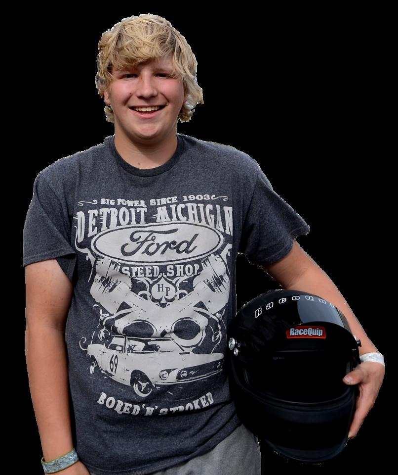 Hunter Monson, 2017 Oahe Speedway SnapOn High School Champion