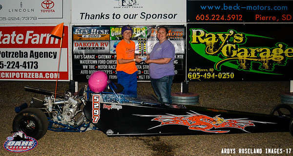 Dragr Monson, Groton, SD - Junior Shootout Winner