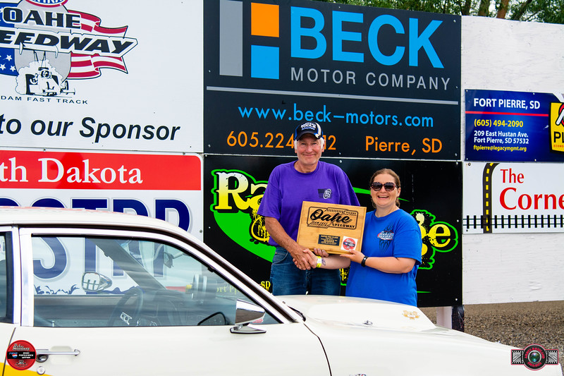 Duane Soper, Gettysburg, SD - Winner - Rees Communications Street Trophy Pepsi Points Race #4