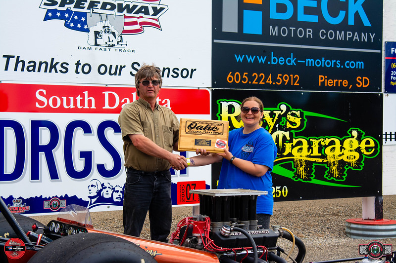 John Scott DeMots, Lebanon, SD - Winner - Dale's Repair Super Pro Pepsi Points Race #4