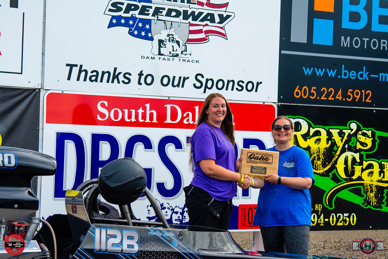 Ashley Holm, Fort Pierre, SD - R/U - Watty's Garage Pro ET Pepsi Points Race #4