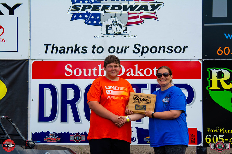 Justin Ehlers, Pierre, SD - R/U -  L&O Farms Junior Major Pepsi Points Race #4