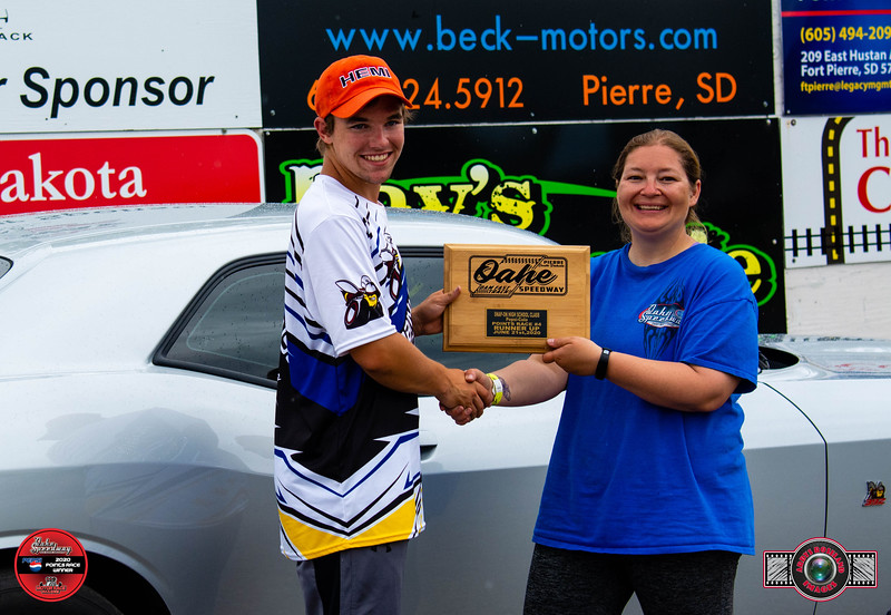 Dillon Robinson, Mitchell, SD - R/U - Snapon High School Pepsi Points Race #4