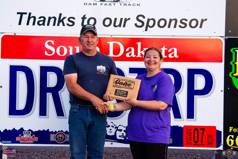 Pat Hartinger, Aberdeen, SD - R/U - Oahe Speedway Trophy Shootout