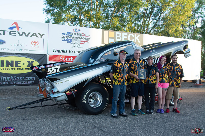 Jim Chase, Bismarck, ND - Winner - Rocky Mountain Superchargers Comp Products Funny Car Rampage