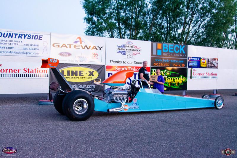 Chuck Schmidt, Surrey, ND - Winner - Oahe Speedway, Box,/No Box Shootout