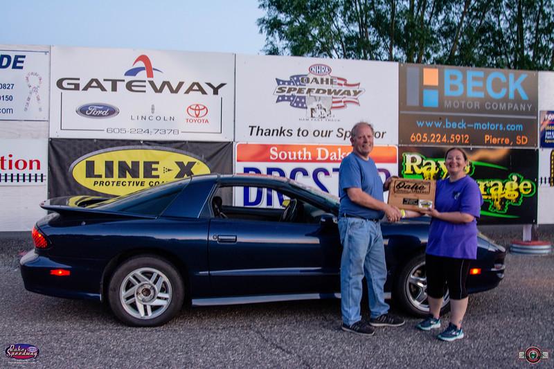 Joe Wolf, Pierre, SD - Winner - Oahe Speedway Trophy Shootout