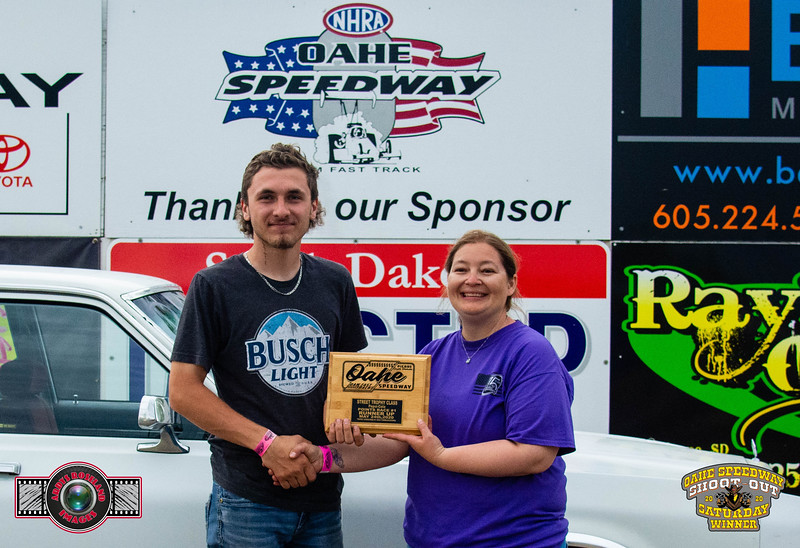 Blade Olson, Bath, SD - R/U - Oahe Speedway Trophy Shootout