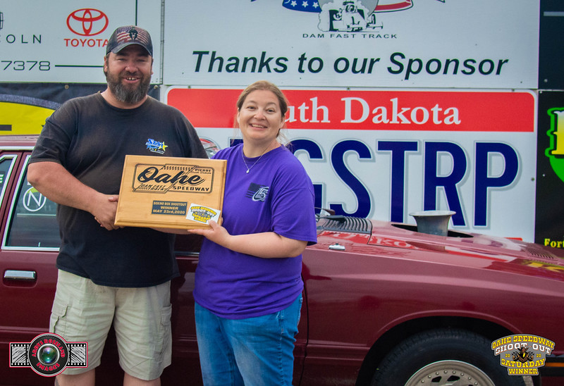 Kevin Ferguson, Grand Forks, ND - Winner - Oahe Speedway, Box/No Box Shootout