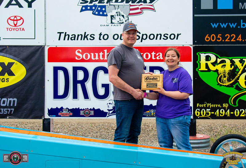 Chuck Schmidt, Surrey, ND - R/U -Oahe Speedway, Box/No Box Shootout