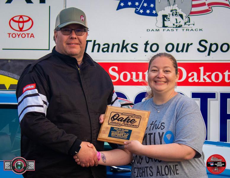 Jack Buetler, Watertown, SD - R/U - Watty's Garage Pro ET Pepsi Points Race #1