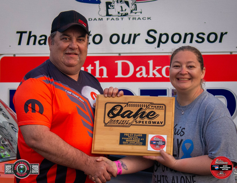 Randy Compson, Valley City, ND - Winner -  - Watty's Garage Pro ET Pepsi Points Race #1