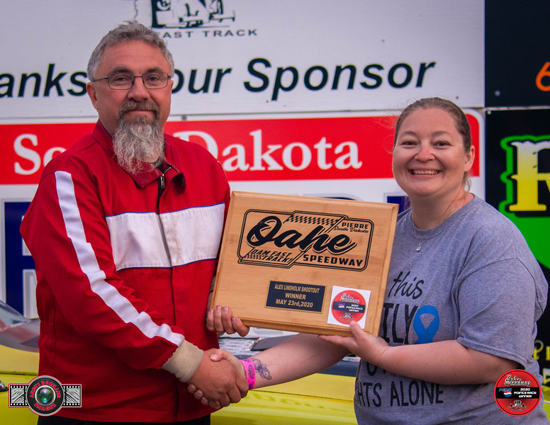 Travis Olson, Bath, SD - Winner - Alex Lindholm Street Trophy Pepsi Points Race #