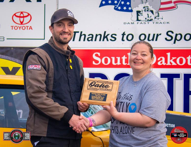 Dustin Buchmann, Beulah, ND - R/U - Dale's Repair Super Pro Pepsi Points Race #1