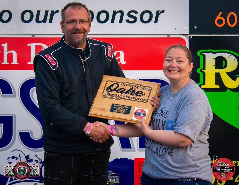 Glenn Gordon, Surrey, ND - Winner - Dale's Repair Super Pro Pepsi Points Race #1