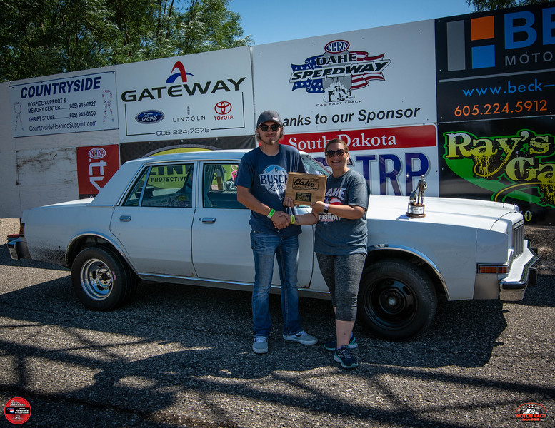 Blade Olson, Bath, SD - R/U - Rees Communications Street Trophy Pepsi Points Race #7