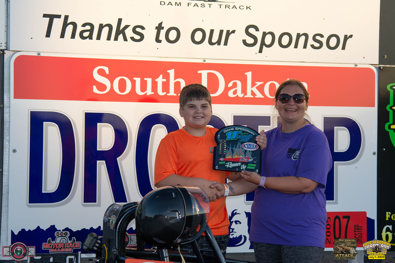 Ryker Mohr, Mitchell, SD- R/U - 11th Annual Oahe Speedway Minor Junior Jam Half Track Attack
