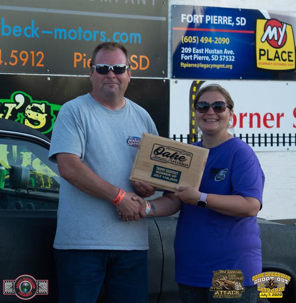 Alen Jensen, Columbia, SD - R/U - Oahe Speedway Trophy Shootout