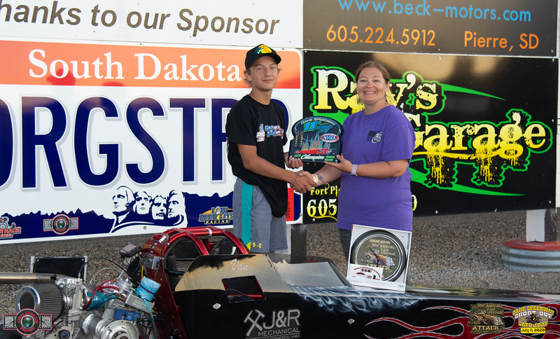 Van Long, Mitchell, Sd - Winner - 11th Annual Oahe Speedway Major Junior Jam Half Track Attack