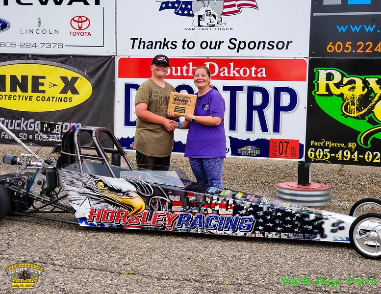 Eddisen Engels, Pierre, SD ~ R/U ~ 2020 Oahe Speedway Junior Shootout