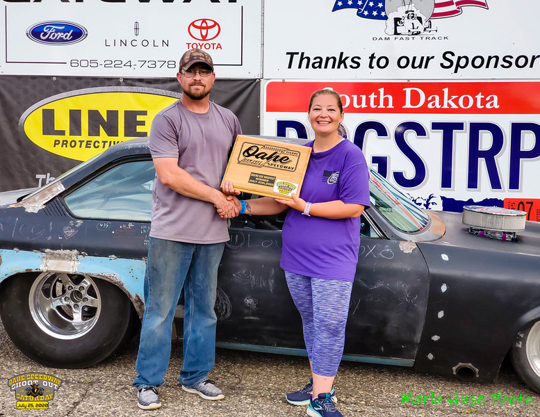 Justin Tjeerdsma, Pierre, SD ~ Winner ~ 2020 Oahe Speedway Box/No Box Shootout