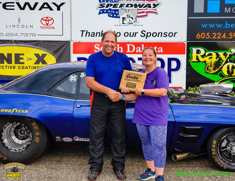 Todd J Casper, Lake Preston, SD ~ R/U ~ 2020 Oahe Speedway Box/No Box Shootout