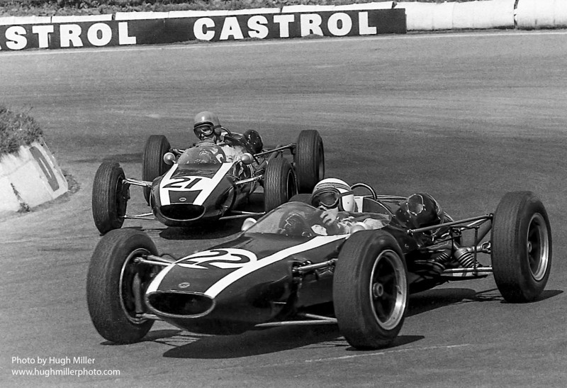 Jackie Stewart, Warwick Banks: Cooper FJ Mallory Park 1964