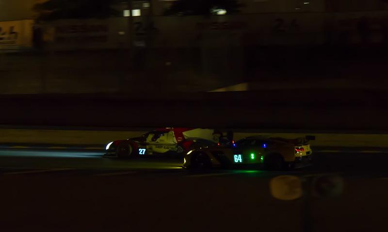 SMP RACING BR01 - NISSAN  & CORVETTE RACING - C7R