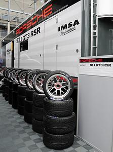 IMSA Porsche GT3 RSR trailer