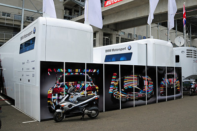 BMW M3 GTR trailer