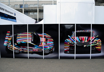 BMW garage M3 GTR Art Car