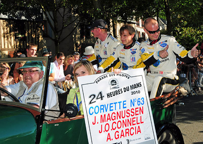 Corvette C6R # 63 drivers